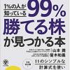 「99%勝てる株が見つかる本」(かんき出版)を書き終えて by yamamoto